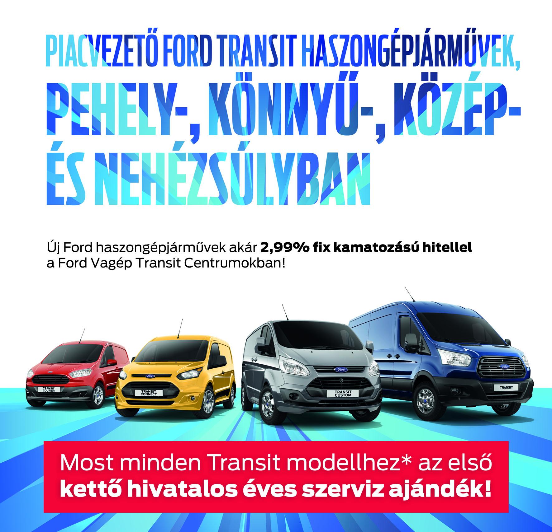 Ford Transit akció