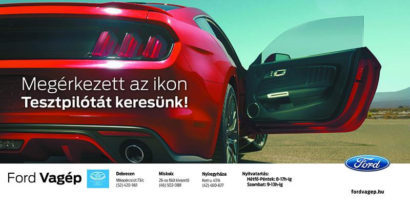 Ford Mustang akció