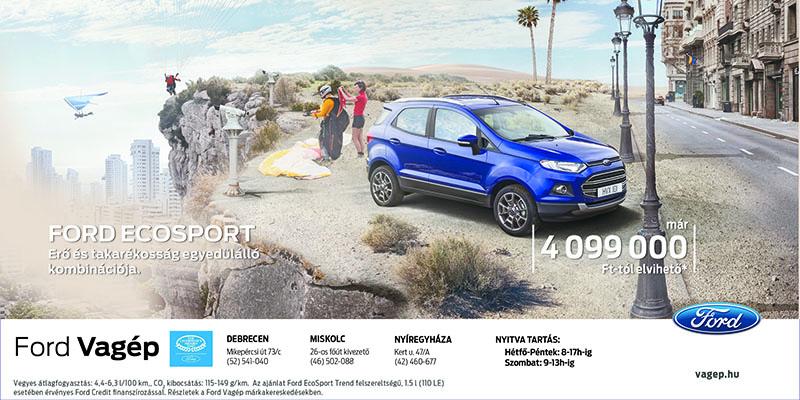 Új Ford EcoSport akció