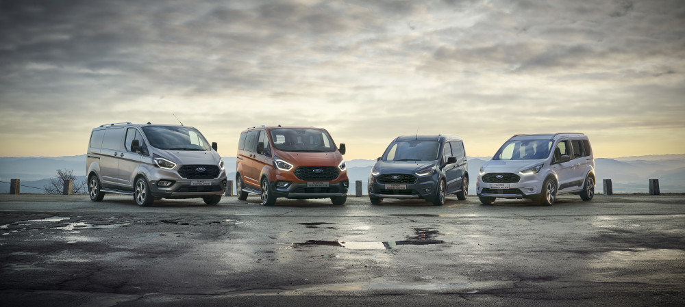 Piacvezető Ford haszongépjárművek